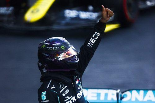 Hamilton, de estar casi fuera en Q2 a la pole en Rusia; Pérez es 4°