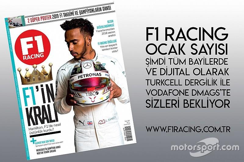 F1 Racing Ocak sayısı çıktı