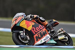Avustralya Moto2: Binder, Mir'i 0.036 saniye farkla geçerek zafere ulaştı