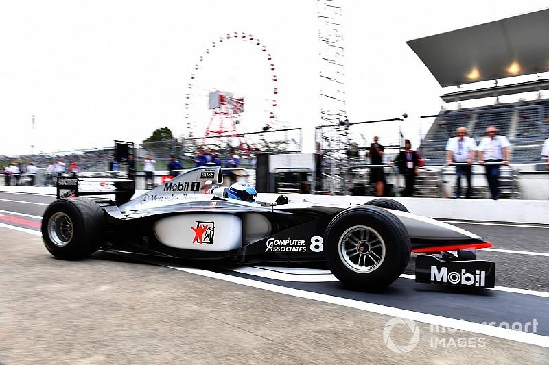 20 Jahre nach WM-Titel in Suzuka: Mika Häkkinen zurück im McLaren MP4/13