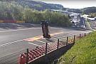 WEC Isaakyan vliegt over de kop op Spa-Francorchamps