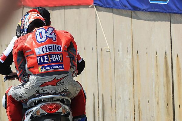 MotoGP Reactions Kesalahan kecil, peluang juara Dovizioso terancam