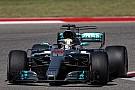 F1 Hamilton ganó en Austin y quedó a las puertas del título