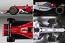 Formula 1 Williams FW41'i Haas VF-18 ve Ferrari SF70 H ile kıyaslıyoruz