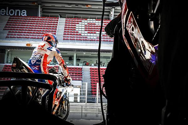 MotoGP Actualités Petrucci espère rester chez Ducati, mais a choisi de signer pour un an