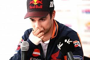 MotoGP Actualités Après les premiers essais, Pedrosa ne sait pas s'il pourra courir