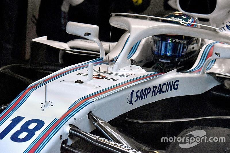 Williams: ci sono due bordini ai lati della scocca della FW41
