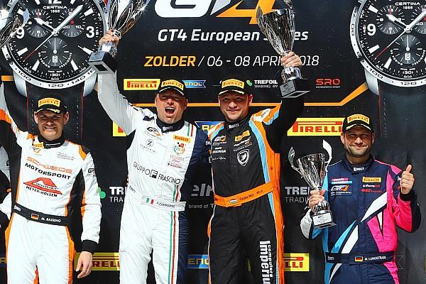 Hazai Motorsport.com hírek Ezüstéremmel és kategóriagyőzelemmel kezdett a GT4 EB magyar versenyzője Zolderben!