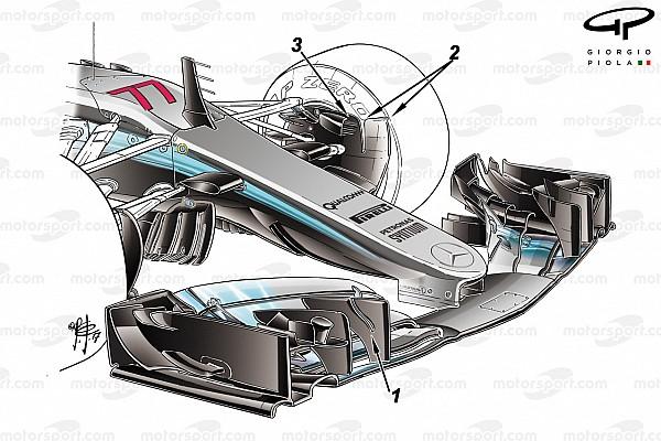 Análise: As mudanças no carro da Mercedes para 2017