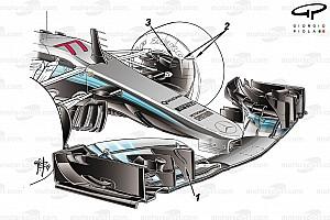 Formel 1 Analyse Formel-1-Technik: So hat Mercedes den W08 weiterentwickelt