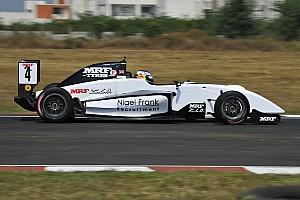 Indian Open Wheel Qualifying report Chennai MRF Challenge: Newey takes crucial pole ahead of Schumacher