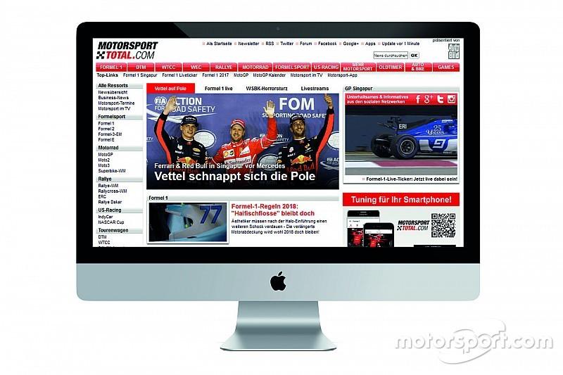Motorsport Network adquire grupo de mídia para expansão na Alemanha