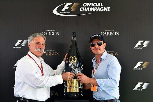 3 mil dólares cuestan las nuevas botellas de champagne para la F1