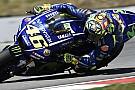 Valentino Rossi está consciente que falló su estrategia