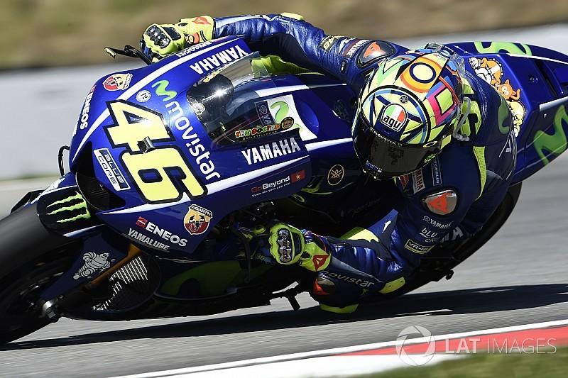 Rossi espera que Yamaha tenga listo el sistema de mensajes