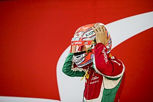 FIA F2 Breaking news Fuoco stripped of front row starting spot for Bahrain opener