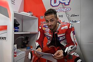 MotoGP Réactions Dovizioso :