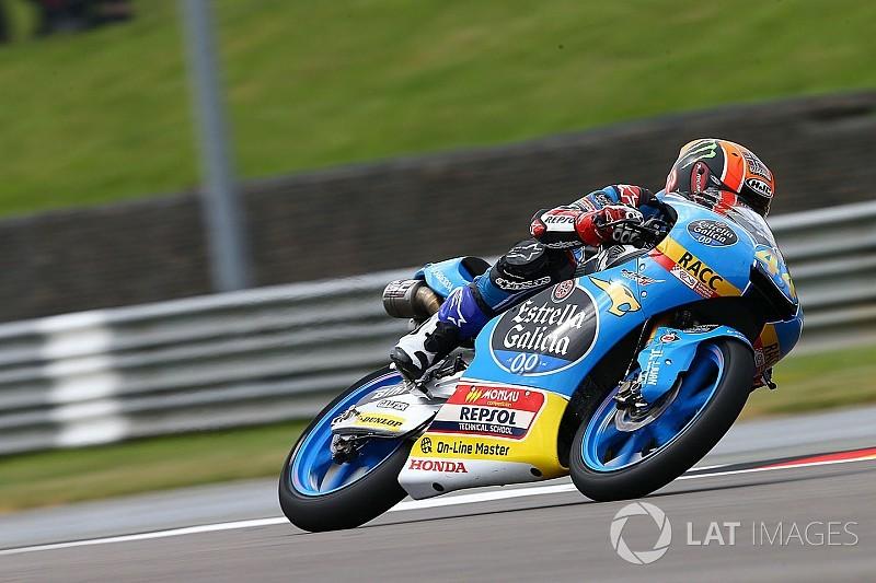 【Moto3】ドイツ予選:前戦勝者のカネットがポールポジション奪取