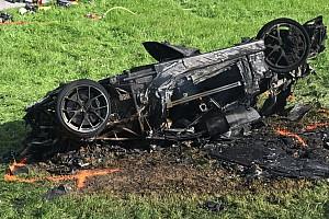 Hillclimb Breaking news Richard Hammond airlifted to hospital after hillclimb crash