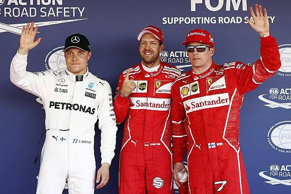 Formula 1 Qualifying report Russian GP: Vettel leads stunning Ferrari 1-2 at Sochi