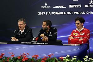 Formula 1 Press conference Japanese GP: Friday's press conference