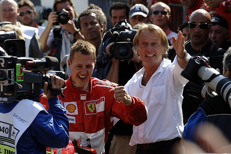 VÍDEO: Montezemolo relembra trabalho com Schumacher