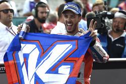 Переможець гонки Андреа Довіціозо, Ducati Team