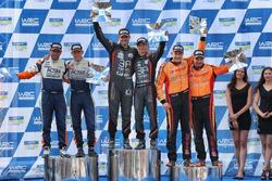 Podio WRC3: Nil Solans, Miquel Ibáñez, Ford Fiesta R2T