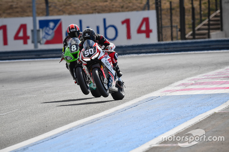 #50 Team April Moto Motors Events, Honda: Matthieu Lagrive, Gregory Fastre, Baptiste Guittet