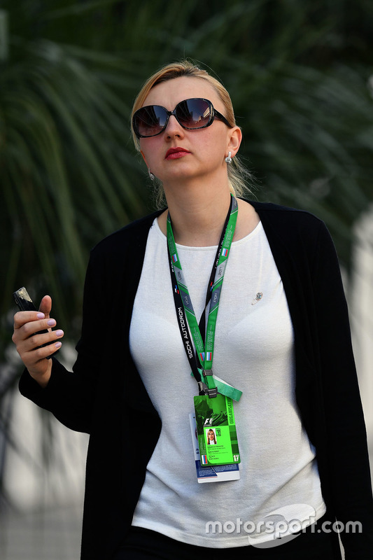 Alina Altergot, Russian GP Promoter Head of the Directorate