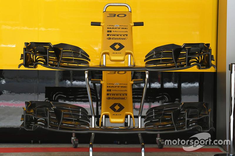 Renault Sport F1 Team RS17 ala y nariz delantera
