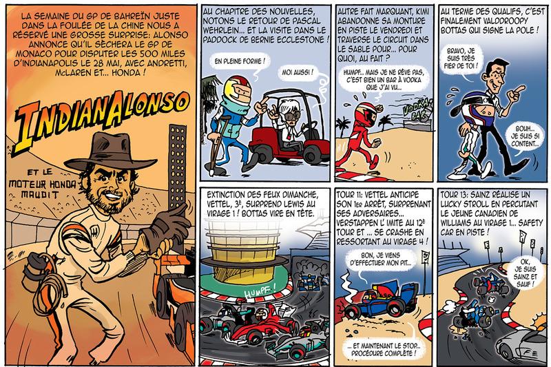 Le GP de Cirebox - Bahreïn 2