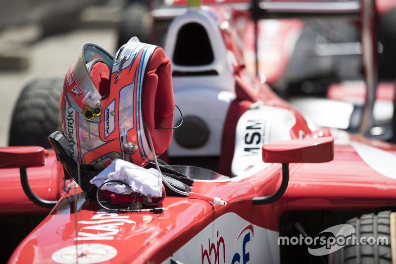 The helmet of Antonio Fuoco, PREMA Powerteam