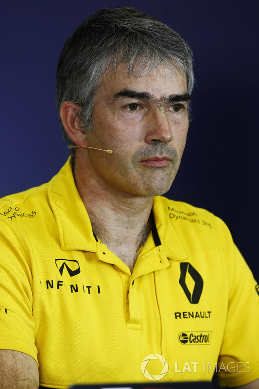 Nick Chester, Jefe técnico Renault Sport F1 Team