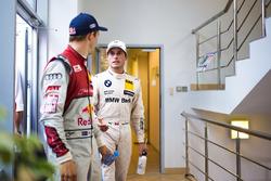 Маттіас Екстрьом, Audi Sport Team Abt Sportsline, Audi A5 DTM, та Бруно Спенглер, BMW Team RBM, BMW M4 DTM