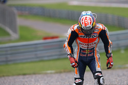 Accidente de Dani Pedrosa, Repsol Honda Team