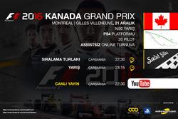 F1 2016 Turnuvası Kanada GP