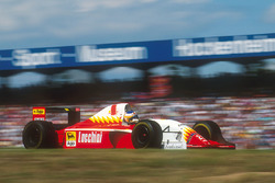 Michele Alboreto, Lola T93/30 Ferrari