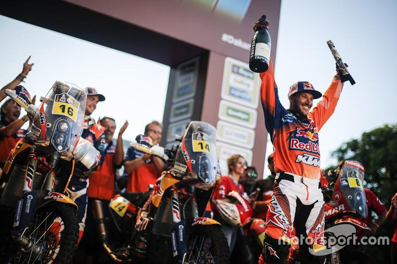 Ganador, Sam Sunderland, Red Bull KTM Factory Racing