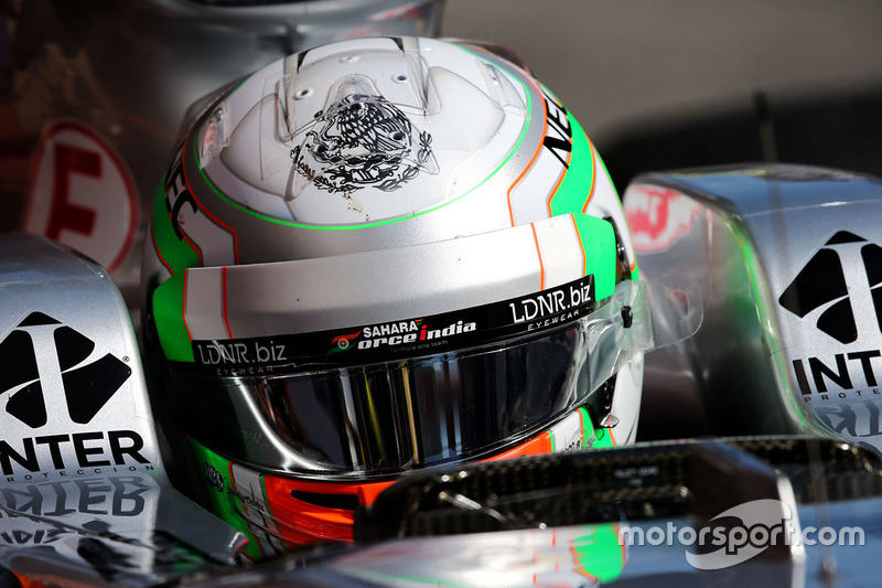 Alfonso Celis Jr., Sahara Force India F1 VJM10 Development Driver