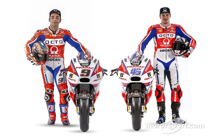 Danilo Petrucci, Octo Pramac Racing, Scott Redding, Octo Pramac Racing