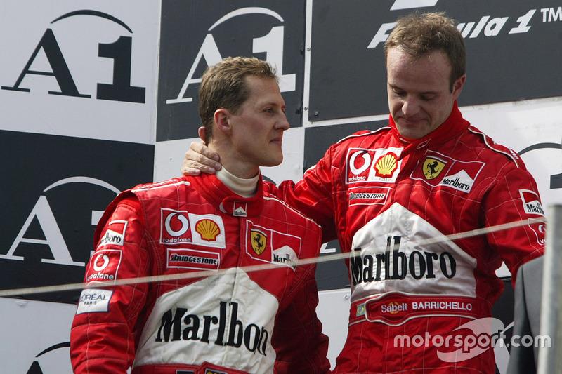 2002: Michael Schumacher (?)