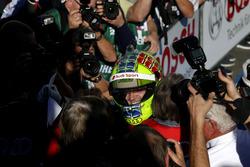 Il vincitore della gara Jamie Green, Audi Sport Team Rosberg, Audi RS 5 DTM