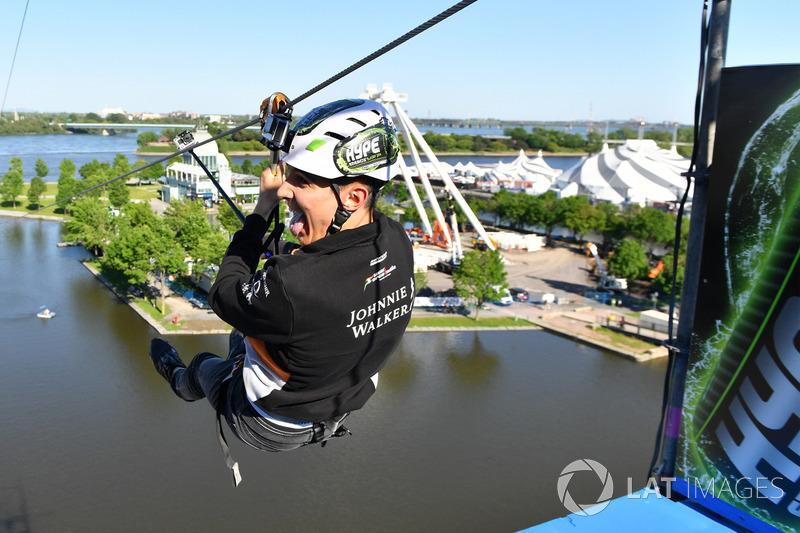 Естебан Окон, Sahara Force India F1, на канатній трасі