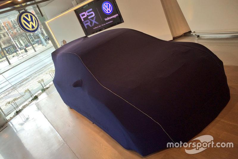 PSRX Volkswagen Schweden: Verhülltes Auto