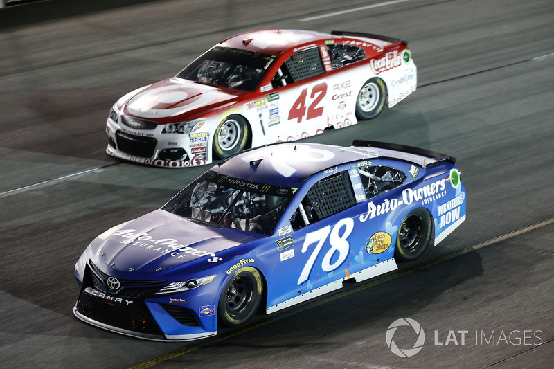 Martin Truex Jr., Furniture Row Racing Toyota Kyle Larson, Chip Ganassi Racing Chevrolet