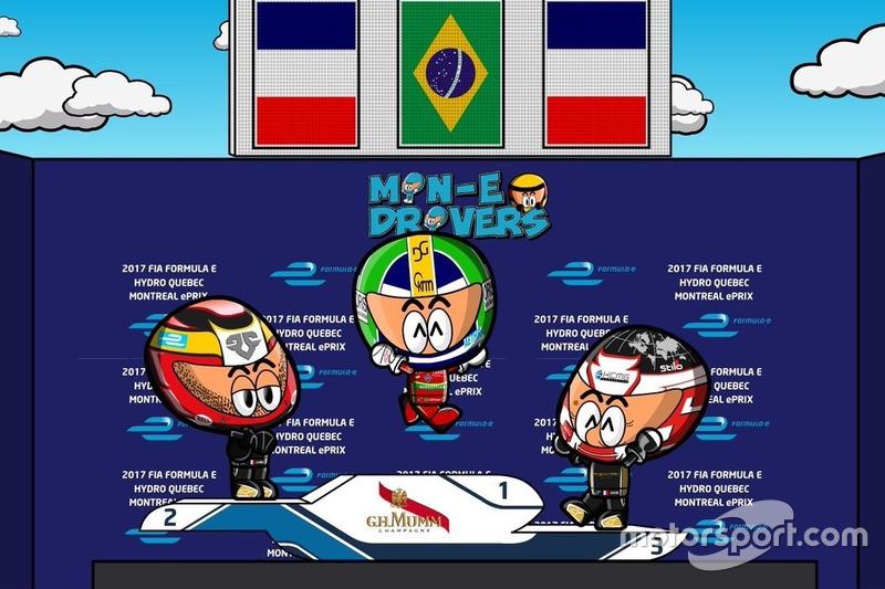 Primera carrera del ePrix de Montreal 2016/2017 según 'Los MinEDrivers'