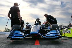 Juan Pablo Montoya test de 2018 Chevrolet