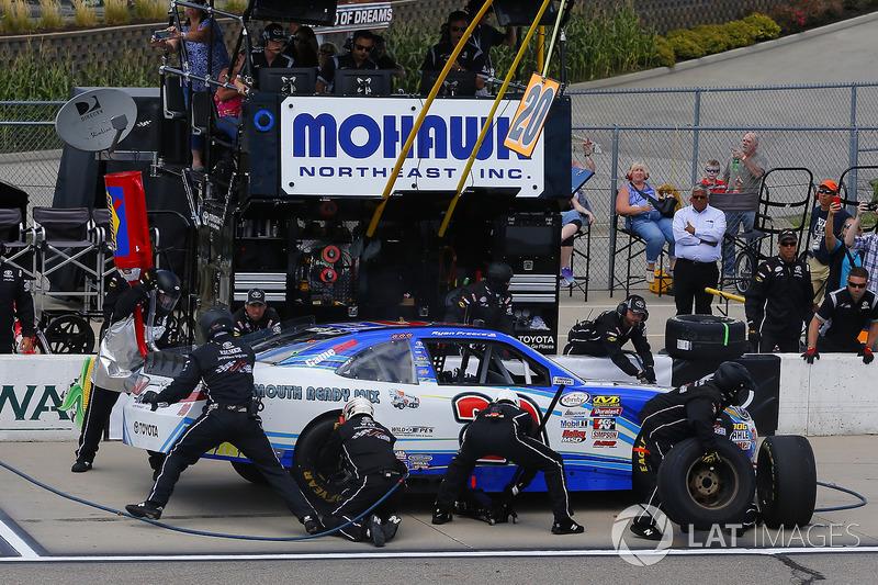 Ryan Preece, Joe Gibbs Racing Toyota pit stop