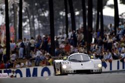 Jochen Mass, Manuel Reuter, Stanley Dickens, Sauber C9-Mercedes-Benz